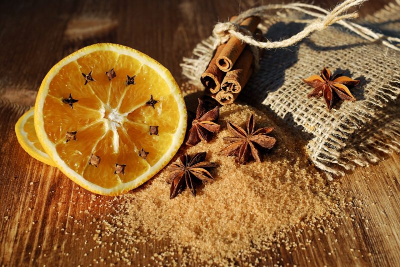 Cloves and oranges as pest repellents.