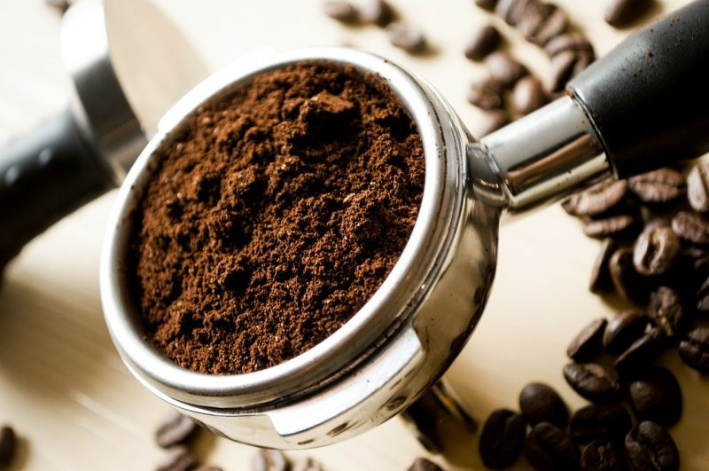 Coffee grounds can help repel small ants.