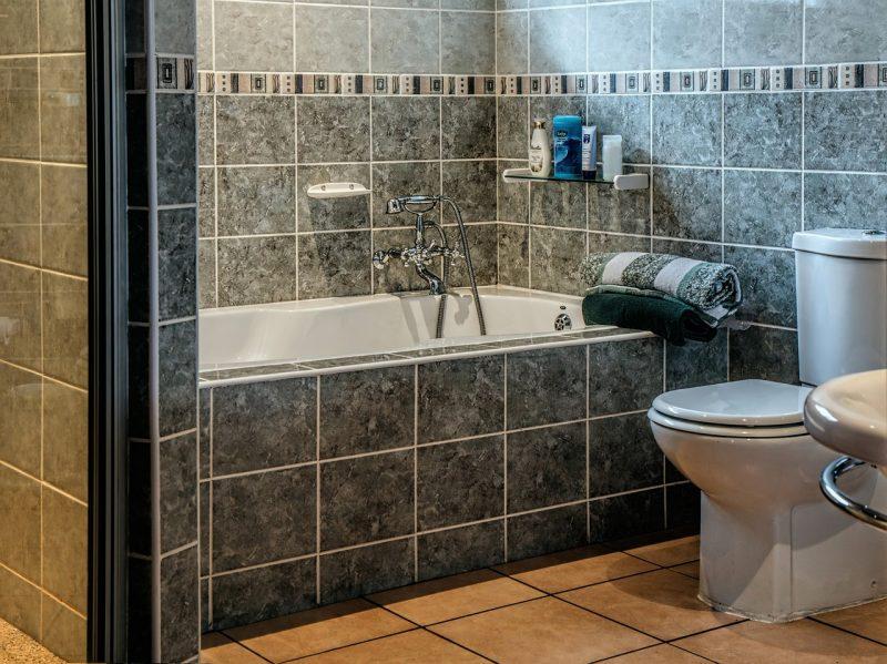A clean shower.